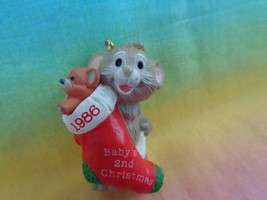 Vintage 1986 Hallmark Baby's Second Christmas Ornament  - $2.48