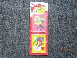 Very Rare Marvel Universe Spider-Man  Valentines Day Stickers! 1993! 10 ct! - $14.95