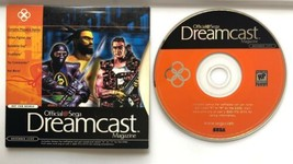 ☆ Sega Dreamcast Magazine September 2000 Vol 7 Demo Disc Complete W/ Sle... - $11.99
