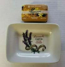 Yves Rocher Bourbon Vanilla Gentle Soap Soap 2.8 oz & Victor Vaisser Soa... - $24.99