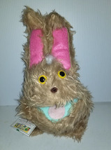 F2 * Professional Brown w/ White Spots Muppet Style Ventriloquist Bunny Puppet - $15.00