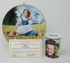 The Danbury Mint Shirley Temple Collector Plate & Mug Heidi w/COA - $27.23