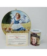 The Danbury Mint Shirley Temple Collector Plate & Mug Heidi w/COA - $27.23