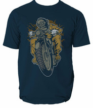 Diver Motorcycle mens t shirt Garage Full Speed Cafe Racer garage motor S-3XL  image 2