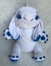 "Disney Lilo & Stitch Blue White Winter Stitch Plush Stuffed Animal 18"" Rare - $48.37"