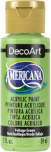 Americana Acrylic Paint 2oz-Foliage Green - Opaque - $12.57
