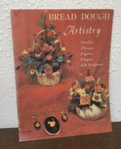Bread Dough Artistry Vtg 1968 Craft Book - $8.66