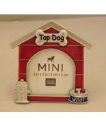 Studio Decor Mini Metal Photo Picture Frame - New - Top Dog - $14.99