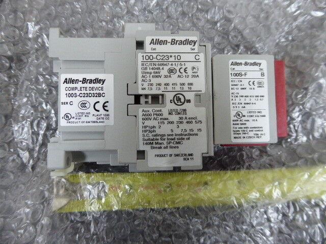 Allen Bradley 100S-C23D32BC Safety Contactor New