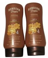 2x Hawaiian Tropic Sunscreen Protective Dark Tanning Sun Care Sunscreen ... - $28.04