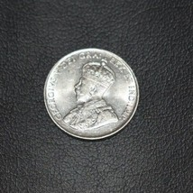 1922 High Grade Canadian Coin 5 Cents Five Cent Piece Nickel - $31.93