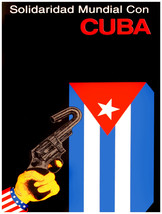 "11x14""Decoration Poster.Interior design art.Cuba anti imperialist.Cuban.... - $12.00"