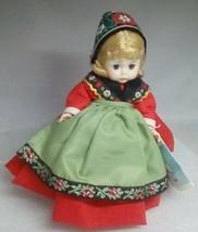 Madame Alexander Doll Sweden 8 Inch #592 Blonde apron hat Sverige Vintage - $19.55