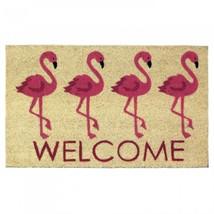 Flamingo Welcome Mat - $25.32