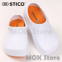 STICO NEC-03 Men Chef Shoes Clog Kitchen Non-Slip Safety Shoes Oil&Water Rubber image 3