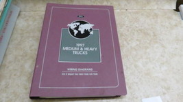 1997 Ford Medium Heavy Duty Truck Wiring Diagrams Book Manual 138 - $45.82