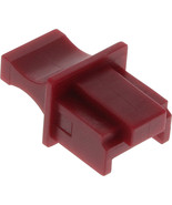 Inline Dust Cover RJ45 isdn- and EtherCon Color: Dark Red 10 Per Blister - $5.85