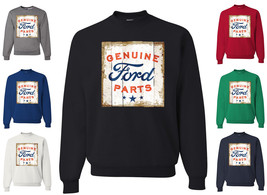 Genuine Ford Parts Licensed Sweatshirt Retro American Classic Built Ford Tough - $15.57+