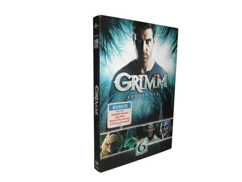 Grimm The Complete Sixth Season 6 DVD Box Set 3 Disc Free Shipping Brand New