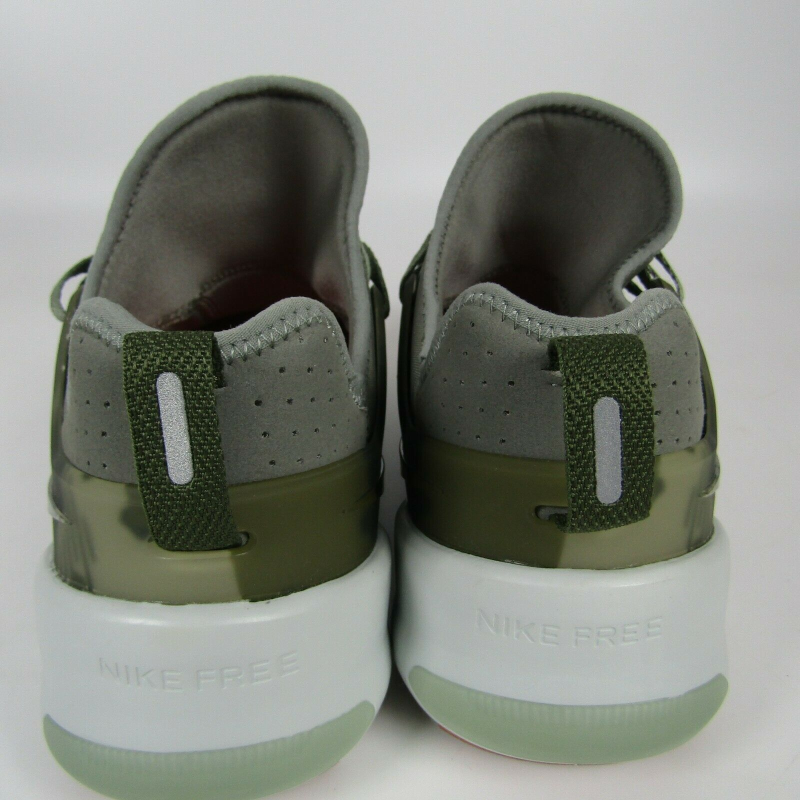 Mens Nike Free Metcon Running Shoes Size 11.5 Green Tan Camo AH8141 002 Trainer image 5