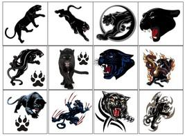 Panther C1 Temporary Tattoos  - $11.00