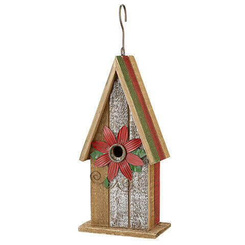 Primary image for Darice Christmas Birdhouse: 5.5 x 12 inches w