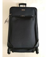 """* NEW * Tag Springfield III Navy 27"""" Softcase Expan Suitcase Luggage - $52.35"""