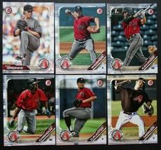 2019 Bowman Arizona Diamondbacks Paper Base Team Set 6 Baseball Cards - $2.99