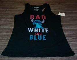 WOMEN'S TEEN DISNEY LILO & STITCH RAD Sleeveless TANKTOP T-shirt LARGE NEW - $19.80