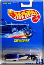 Hot Wheels Swingfire Car NIB Mattel NIP Collector No. 214 1991 - $8.90