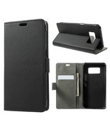 PU Leather Cover Wallet Flip Stand Shell for Samsung Galaxy S8 Active - ... - $6.30
