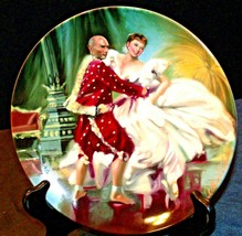 """1985 """"Shall We Dance?"""" by William Chambers Plate with Box ( Knowles ) AA20-CP224"""