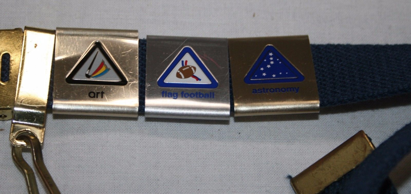 Boy Scouts of America Belt Boys w/ Badges and 26 similar items