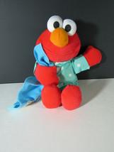 1999 Tyco Elmo Plush PJs Pajamas Blanket  - $9.89