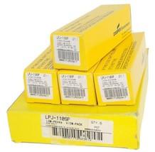 BOX OF 4 NEW COOPER BUSSMANN LPJ-110SP LOW-PEAK CLASS J TIME DELAY FUSES