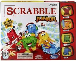 Hasbro Scrabble Junior Game  - $14.84