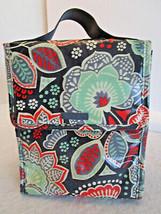 Vera Bradley Vinyl Coated Mandala Lunch Brunch Bag - Preowned, Orange Gr... - €5,65 EUR