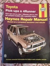 Toyota Pick-Ups (1979-1995) & 4Runner (1984-1995) Haynes Repair Manual 9... - $19.30