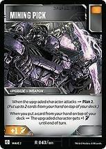 Transformers TCG - Mining Pick - x3 cards - Wave 2 - WOTC - $28.45