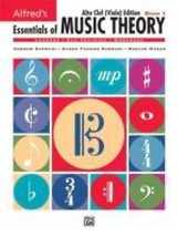 NEW - Alfred's Essentials of Music Theory, Bk 1: Alto Clef (Viola) Edition - $8.99