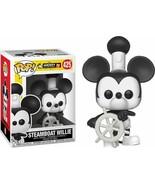 Steamboat Willie Pop! Vinyl Figure Funko Mickey The True Original 90 Yea... - $34.64
