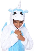 C1818-C WHITE UNICORN Child Onesie - $26.25