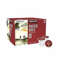 Kirkland Signature Pacific Bold Coffee, Dark, 120 K-Cup Pods - $54.35