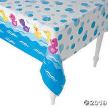 Rubber Ducky Printed Tablecover - $4.61