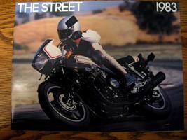1983 Honda Motorcycle Brochure, Full line Street, Gold Wing V45 CX500 Nighthawk - $10.92