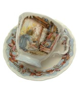 Royal Doulton Brambly Hedge Winter Cup And Saucer - $44.18