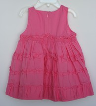 The Children's Place Gorgeous Pink Infant Girl 12 Months Dress Ruffles, ... - $7.91