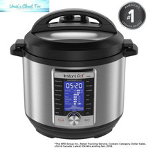 Instant Pot Ultra 6 Qt 10-in-1 Multi- Use Programmable Pressure Cooker, ... - $91.14