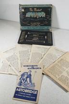 Vintage 1946 The Pocket Autobridge The Worlds Famous Solitaire Bridge Game - $22.35