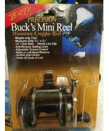 B'n'M BUCK'S MINI REEL PRECISION MINIATURE CRAPPIE REEL - $19.19